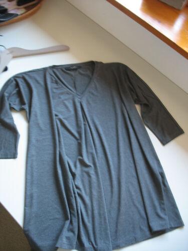 Grau Gr 40 Anthrazit Neu Topp Maxmara Shirt S Hänger Weekend Langarm 38 OXZqn