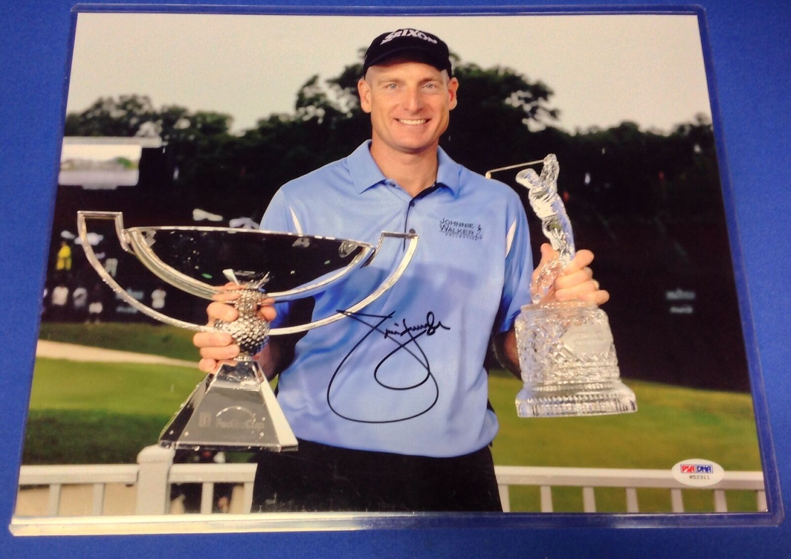 Jim Furyk signed 11x14 Photo PSA/DNA Cert # W52311
