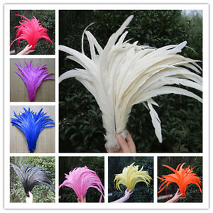 Wholesale! Natural rooster feathers 12-14inches / 30-35 cm10-100pcs