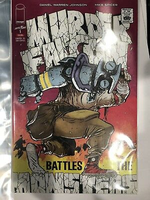 King Size Hulk Homage IN HAND!!! Murder Falcon #1 BTC Exclusive Ltd 500