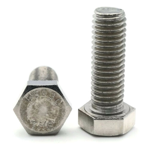 "Hex Bolts Tap Stainless Steel Full Thread 3//8/""-16 x 2/"" Qty 100"