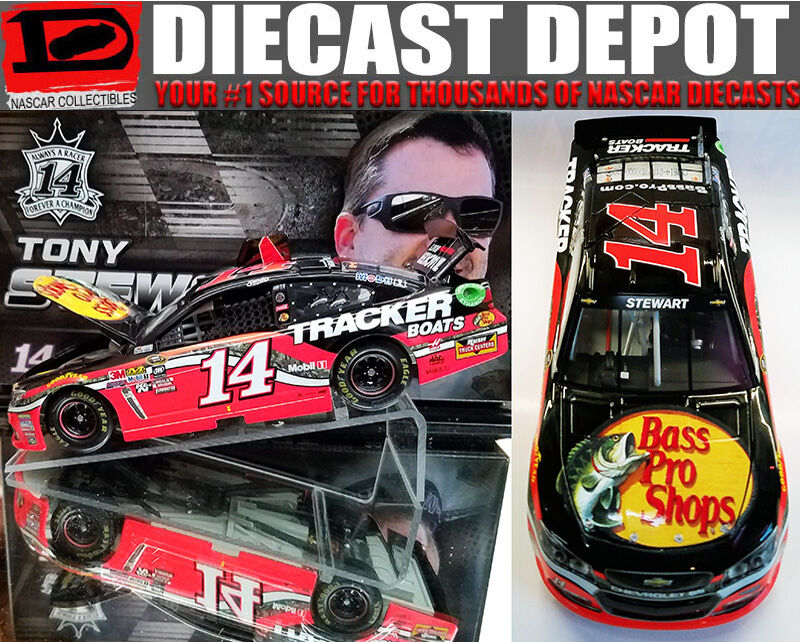 TONY STEWART 2016 BASS PRO SHOPS 1 24 SCALE ACTION NASCAR DIECAST