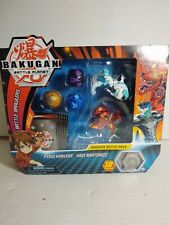 Bakugan Battle Planet Battle Pack 5 Bakugan Haos serpenteze /& Ventus howlkor