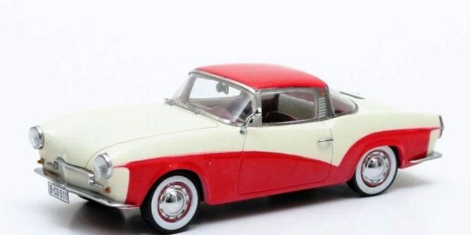 Volkswagen Rometsch Lawrence Coupe - white red 1959 Matrix 1 43 MX42105-011