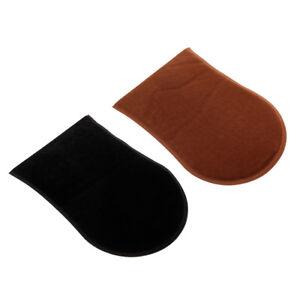 2pcs-Sunless-Self-Tanning-Applicator-Mitt-Glove-Lotion-Spray-Mousse-Tanner