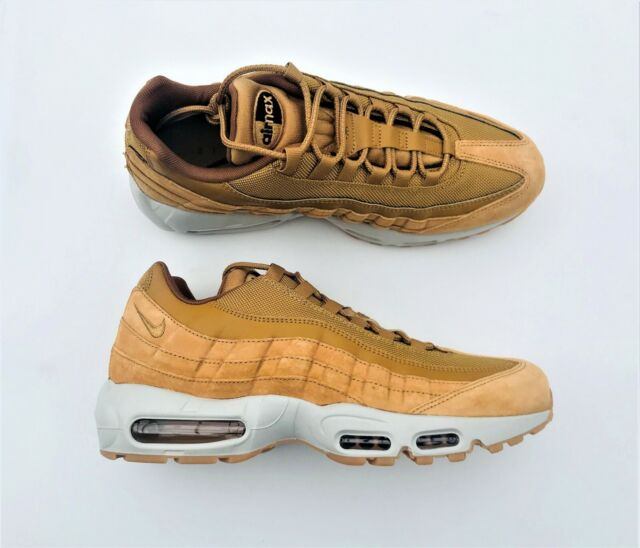 Nike Air Max 95 SE Wheat Pack Light Bone Men Running SNEAKERS Aj2018 700 Size 10