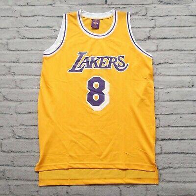 Vintage New 90s Los Angeles Lakers Kobe Bryant Jersey Promo Size XL L | eBay