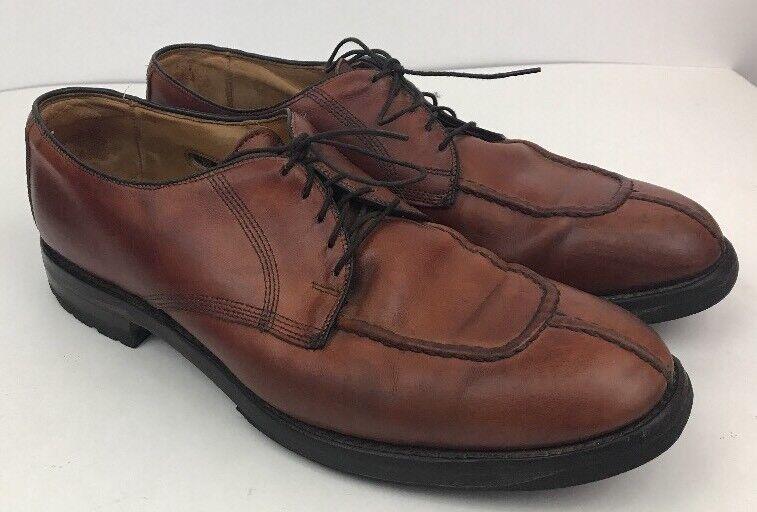 Allen Edmonds  Dellwood  Brown Split Toe Derby Dress Oxford shoes Size 10.5 D