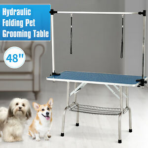 48 Quot Dog Cat Pet Grooming Table Portable Folding Adjustable
