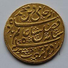 Rare c1800 British India Company Bengal Presidency Gold Mohur XF/AU