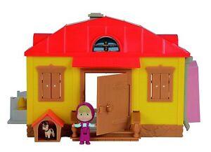 Masha Et Le Ours La Maison Avec Figurines Et Accessoires De Simba Toys Jouet TV