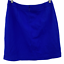 """thumbnail 3 - Mario Serrani Italy Women's Casual Solid Blue Skirt Back Zip A-line Size 10"""""""