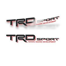 Trd Sport Decals For Tacoma Racing Development Sticker Set Of 2