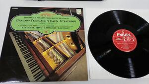 Brahms-Telemann-Haydn-Stravinski-LP-Vinyl-VG-Spanisch-Ed-London