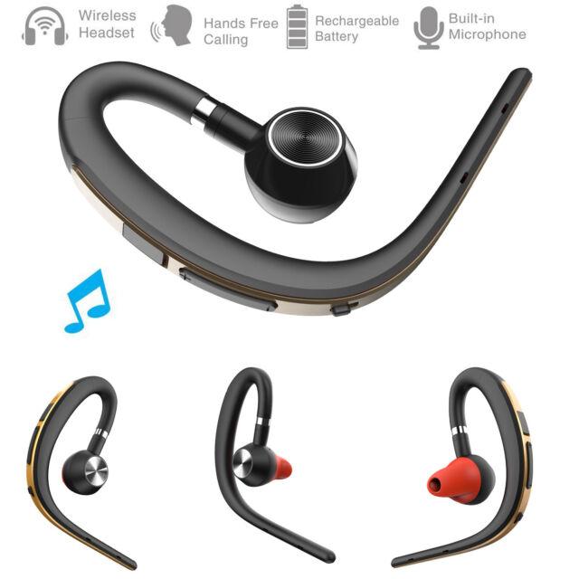 Wireless Bluetooth Headphone Business Stereo Headset Ear Hook For Samsung J7 J8 For Sale Online Ebay