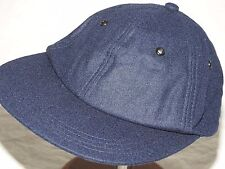 US Navy USMC Marine WW2 EASTMAN CORSAIR HELLCAT PILOT BLUE WOOL FLIGHT BALL CAP