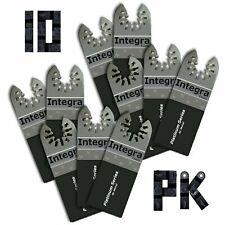 Rj19 10pc Bi Metal Pro Pk Oscillating Multi Tool Saw Blades Fits Ridgid Jobmax