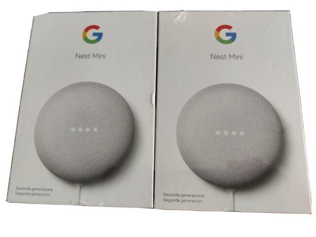 Google Altavoz inteligente Google Nest Mini 2ª Generación Tiza