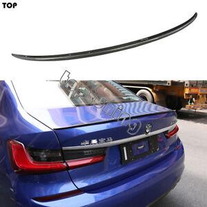 Carbon Fiber Rear Spoiler Lip Lids Fits For BMW G20 3 Series G20 2019+ M3 Style