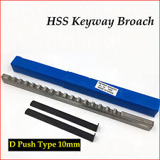 10mm Hss Keyway Broach D Push Type Metric Size Amp Shim Cnc Machine Tool