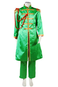 The Beatles Sgt Pepper S Lonely Hearts Club John Lennon Outfit Cosplay Costume Ebay