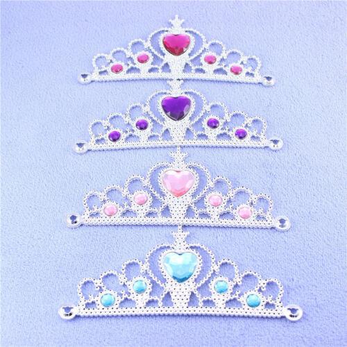 Kinder Frozen Anna Elsa Prinzessin Diadem Krone Zauberstab Handschuhe Zubehör