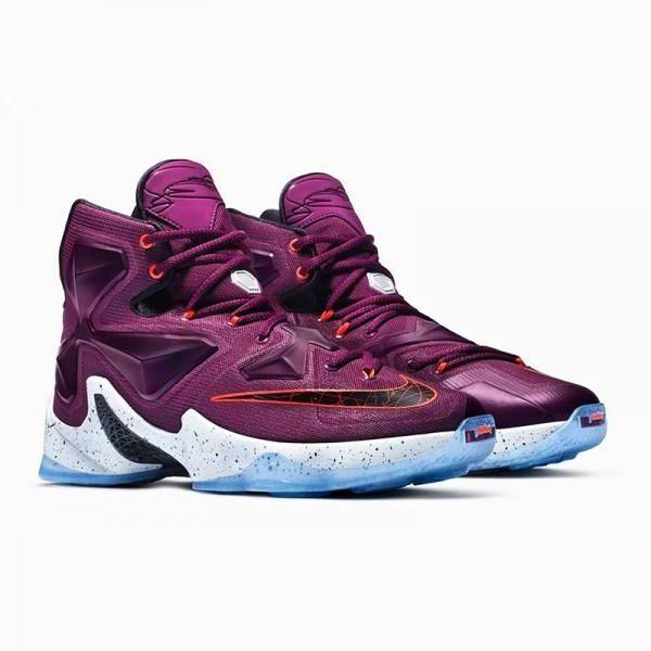 Nike Lebron XIII 13 Written In The Stars US 11 807219-500 Mulberry LA Purple