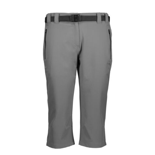 CMP Femmes Capri-Short Grey-Nero