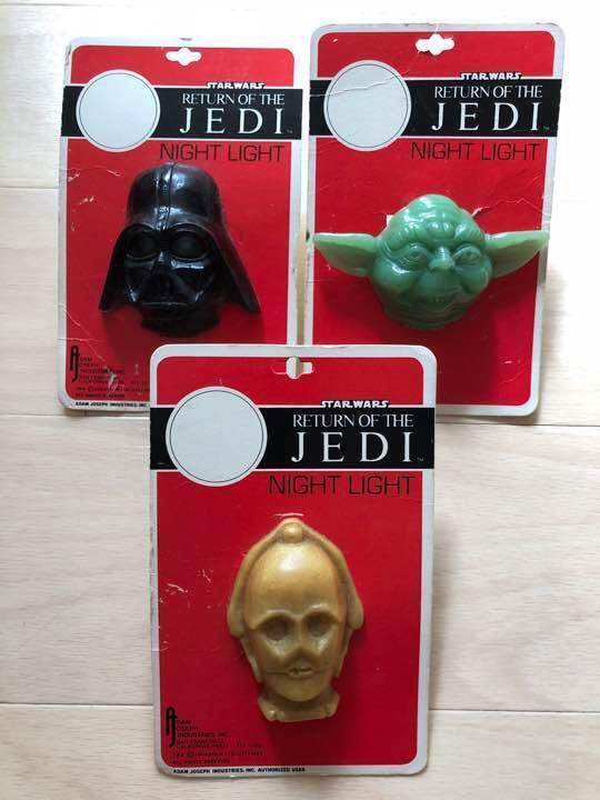 Star Wars Light Plug Goods Goods Goods Vintage Usa Made 892c86