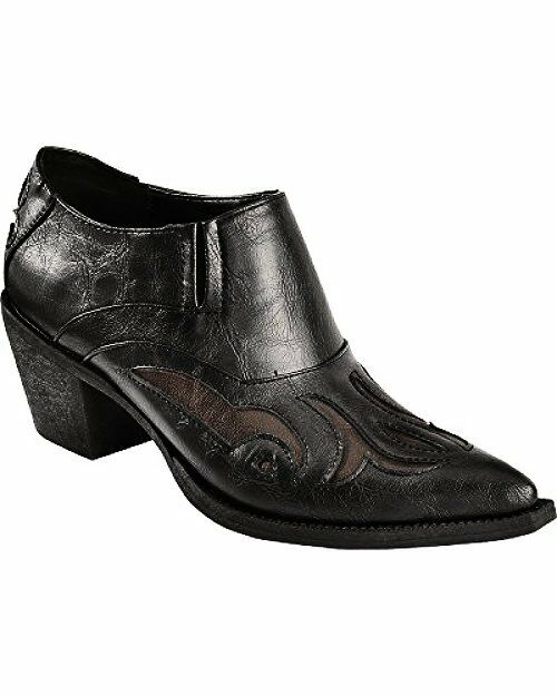 Roper Short Damenschuhe Cowboy Stiefel  Short Roper Faux Leder Fashion Pointed Toe 6ba1ca