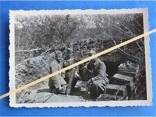 Foto 8cm Granatwerfer 34 Wehrmacht in Feuerstellung