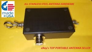ALL-STAINLESS-HARDWARE-End-Fed-Dipole-80-6M-Portable-HF-Matchbox
