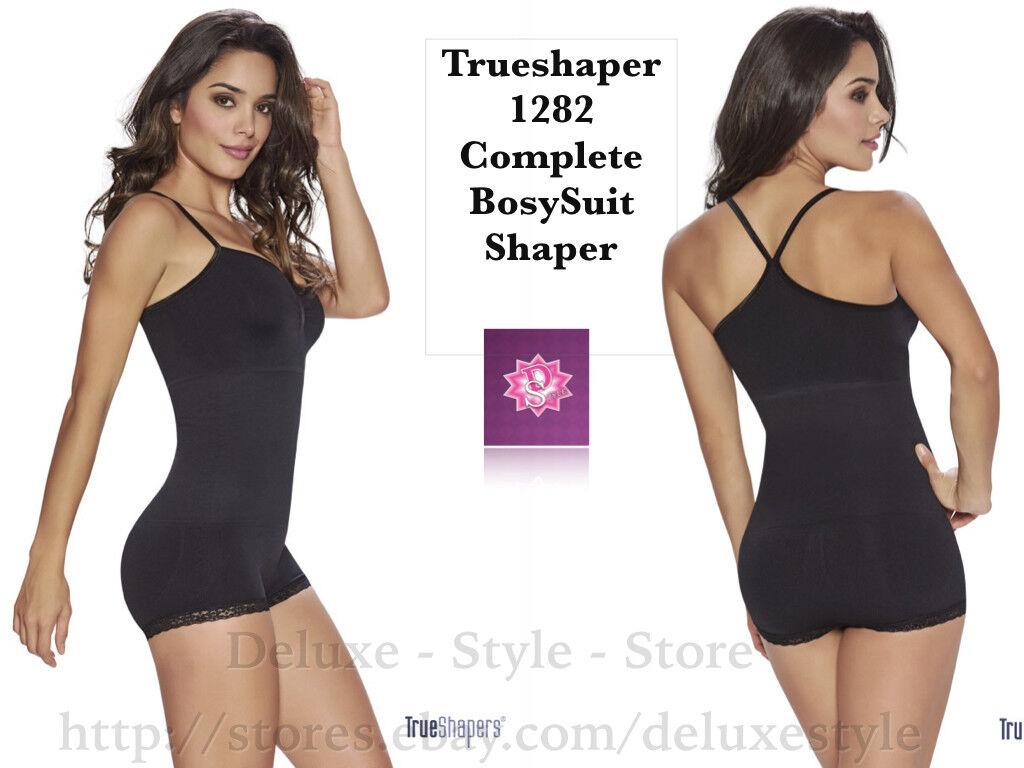 TrueShapers 1282 Complete BodySuit Shaper. FAJA COLOMBIANA, ADELGAZA,MOLDEA FIGU