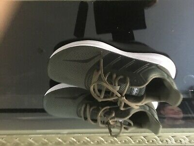 Army green brand new Adidas trainers