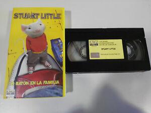 STUART-LITTLE-UN-SOURIS-EN-LA-FAMILLE-ROB-MINKOFF-VHS-BANDE-FILM-CASTILLAN