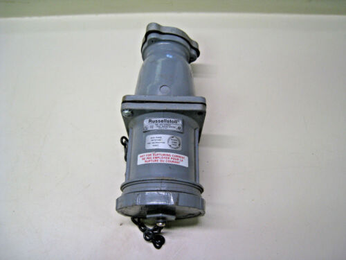 Russellstoll JCS1534LK 150A 600VAC 250VDC Pin /& Sleeve Receptacle FREE SHIPPING