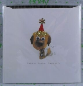 Image Is Loading PUPPY DOG THEMED BIRTHDAY CARD From TEN BAMBOO