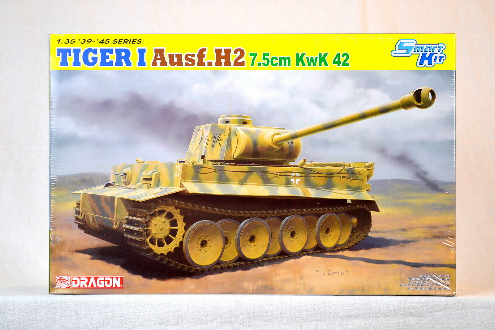 Dragon 6683 1 35 Tiger I Ausf. H2