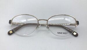 31e20edf389 Image is loading Nine-West-NW1060-Authentic-Eyeglasses-Frame-50-17-