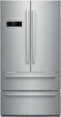 Bosch 800 Series 36 Inch 4-Door French Door Refrigerator B21CL80SNS Stainless