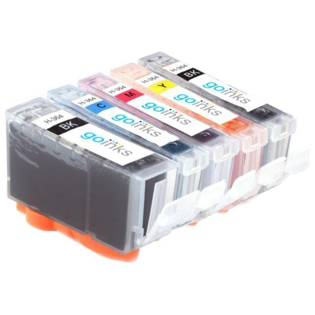 5 Cartuchos de tinta para HP Photosmart 7510 C5383 D5463 C309 C310a C510a
