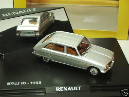 RENAULT 16 TS GRISE 1965 NOREV