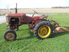 Massey Harris Pony Tractor 2 Way Plow Orginal Mh Paint Decals 1 Owner Runs Great