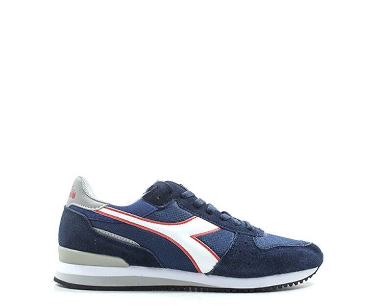 zapatos Diadora Man zapatillas Suede azul, 172315-c7047 fabric