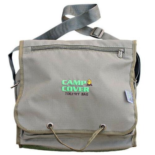 26 x 31 x 8 cm CCK005-A Khaki Ripstop Camp Cover Toiletry Bag