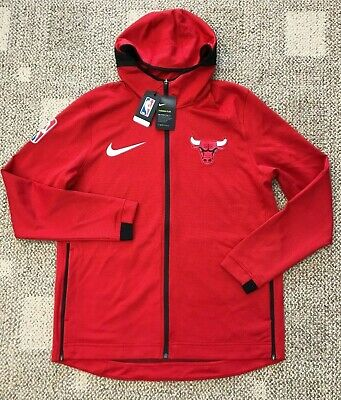 Details about Chicago Bulls Nike Therma Flex Showtime Mens NBA Hoodie 940118 657 Sizes S,M & L