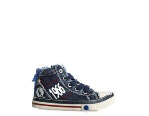 Bien Scarpe Canguro Bambini Sneakers Trendy Blu C54353-060s