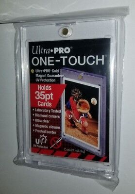 Pack of 5 Ultra Pro 35-Point ONE-Touch Magnetic Trading Card Holder