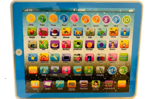 Baby Toddler Kids Learning Tablet Educational Toys 3-6 Years Educational iPad
