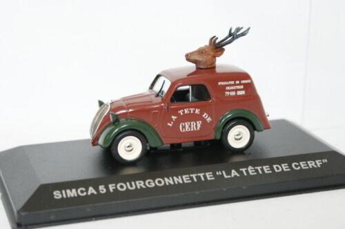 Ixo Presse 1//43 Simca 5 Fourgonnette La tête de Cerf